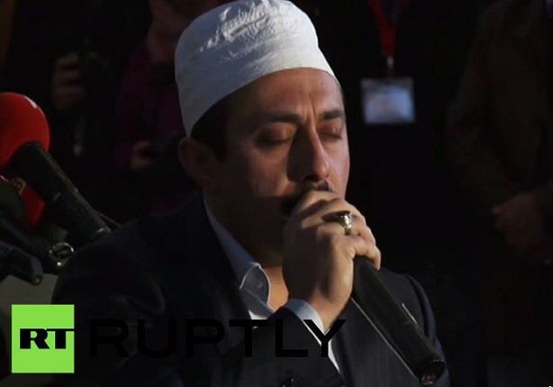 تلاوة القرآن في مسجد أيا صوفيا في إسطنبول