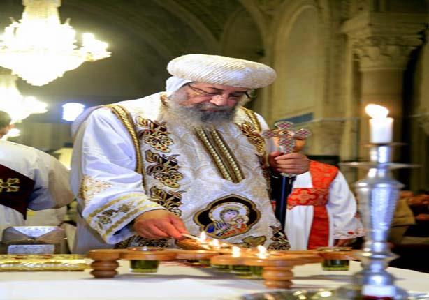 البابا تواضروس يرأس قداسا في الكنيسة المصرية بسيدني