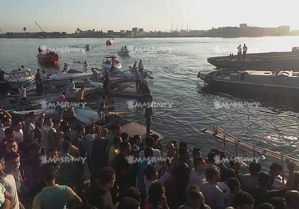 الصحة: ارتفاع ضحايا غرق مركب بالوراق لـ 31 حالة