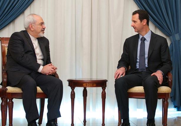 الأسد يستقبل وزير الخارجية الايراني