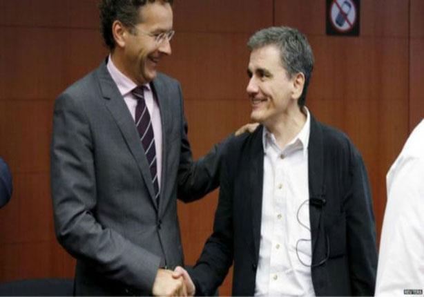 دول اليورو تتفق على حزمة الانقاذ المالي الثالثة لليونان