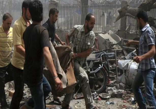 ارتفاع عدد القتلى في بلدة دوما السورية إلى 100 شخص