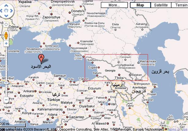 مكان ياجوج ومأجوج على الخريطة