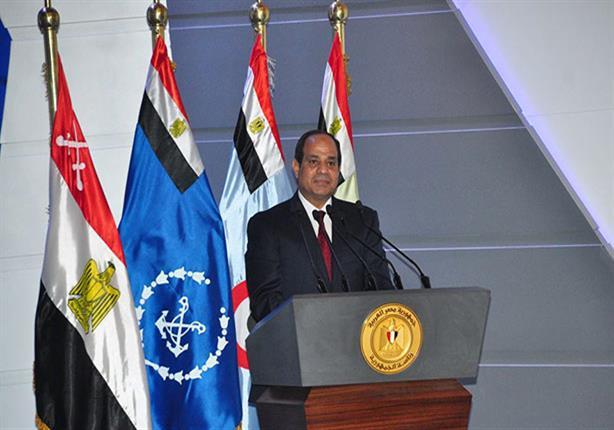 حزب مصر الثورة: السيسي دق جرس إنذار بخطورة التظاهرات والأعمال التخريبية