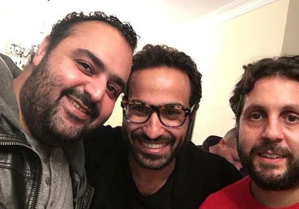 """أحمد فهمى وشيكو وهشام ماجد يشاركون بأول يوم تصوير لـ""""ديدو"""" لهذا السبب"""