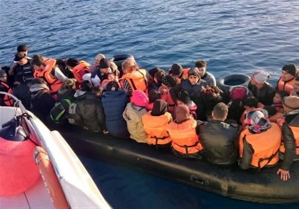 إنقاذ قارب مهاجرين قبالة السواحل الغربية الليبية