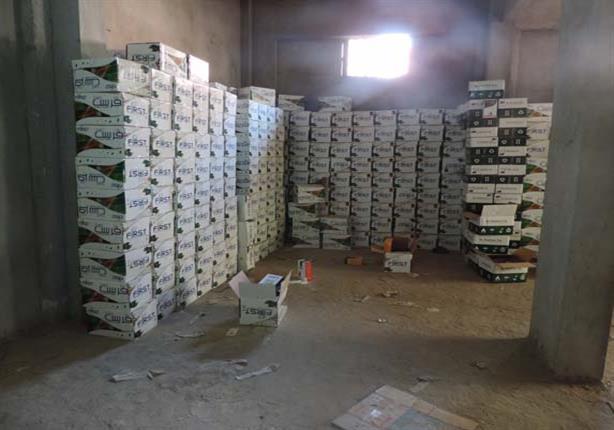 ضبط 171 طن أسمدة ومبيدات زراعية مجهولة المصدر بالإسماعيلية