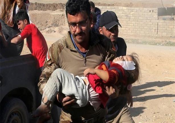 في الموصل: الأم أمسكت يد رضيعها حتى لا يموت وحيدا