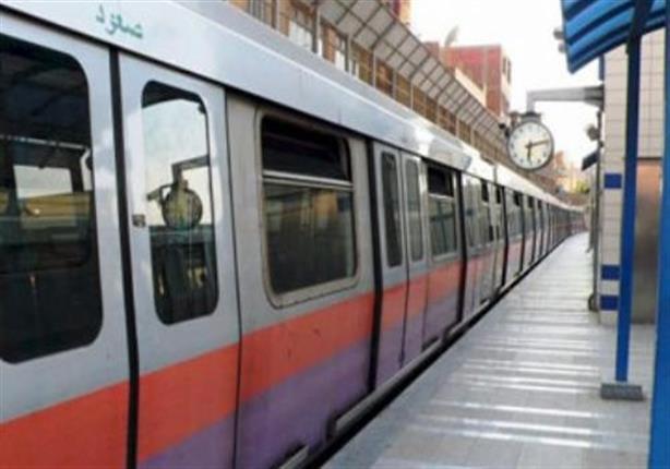 """""""المترو"""" تعلن تفاصيل انتحار مواطن في محطة جامعة القاهرة"""