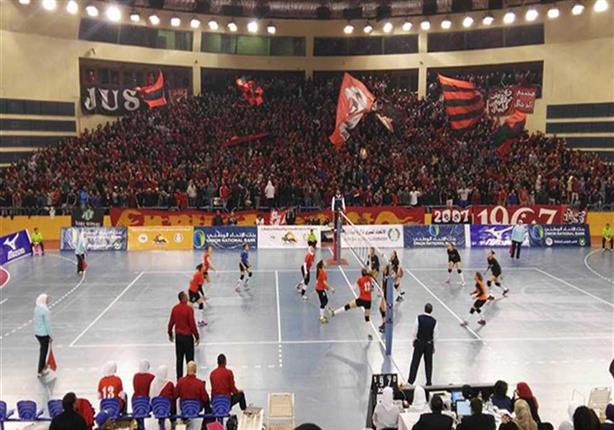 كرة طائرة - سيدات الأهلي يتوجن بالبطولة العربية للأندية