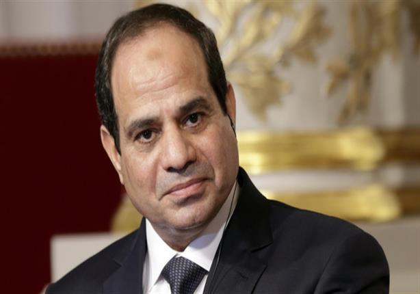 """السيسي يتفقد محور """"روض الفرج - الضبعة"""" عقب افتتاحه رسميًا"""