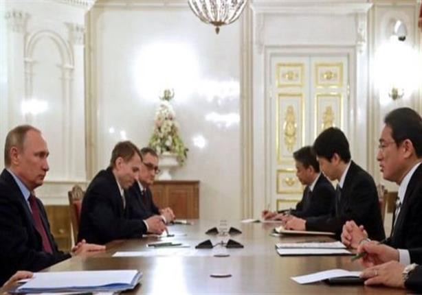 بوتين في اليابان في محاولة لحل أزمة الجزر المتنازع عليها بين الدولتين