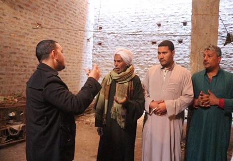 محرر ولاد البلد مع أهالي القرية