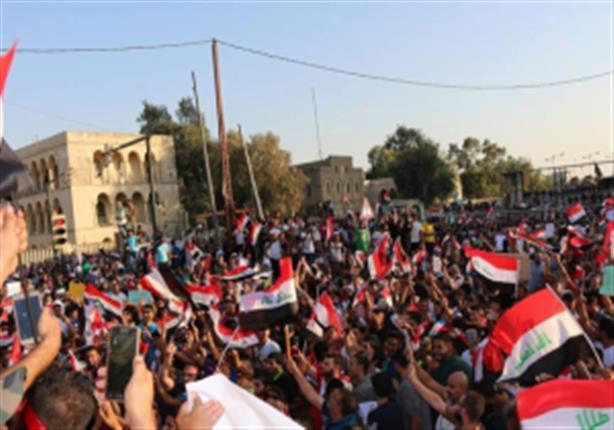 ساحة التحرير في بغداد تستقبل متظاهرين قادمين من المحافظات
