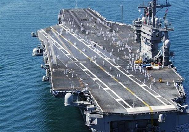 حاملة طائرات أمريكية تصل اليوم إلى كوريا الجنوبية في رسالة تحذيرية لكوريا الشمالية