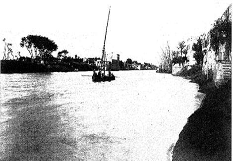 صورة قديمة لنهر النيل تعود لما قبل 1890