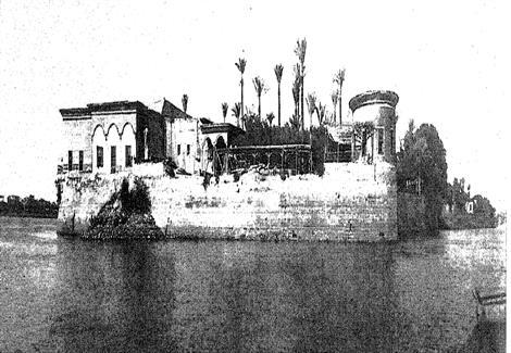 مقياس النيل في الروضة- الفترة بين 1850إلى 1890