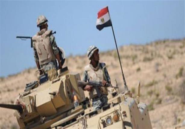 قوات الأمن تحبط هجوما على كمين جنوب العريش وتقتل 5 مسلحين