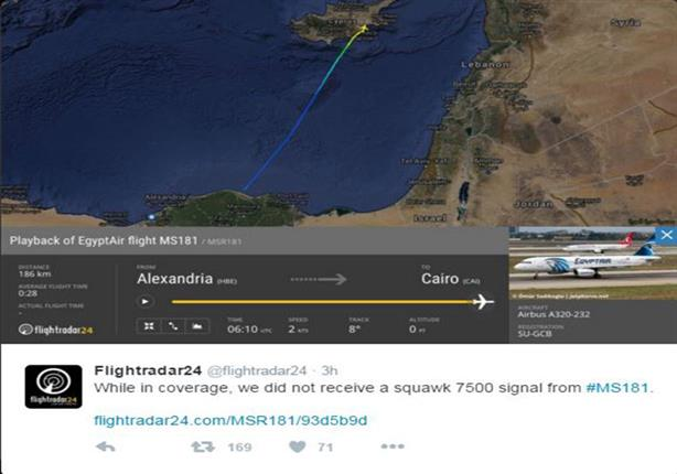 بالخرائط – مسار الطائرة المصرية المختطفة من مطار برج العرب إ | مصراوى