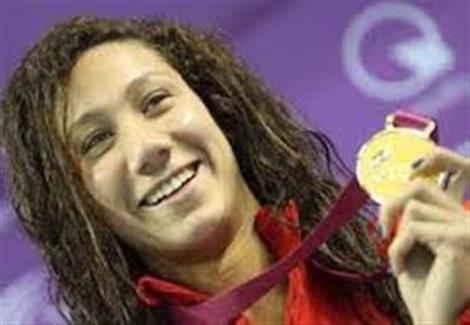 فريدة عثمان لمصراوي: شاركت ببطولة العالم للسباحة من أجل الحصول على ميدالية