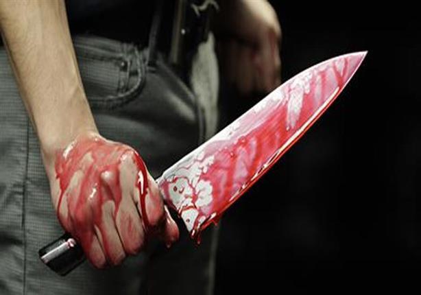 رجل يذبح زوجته في الشرقية