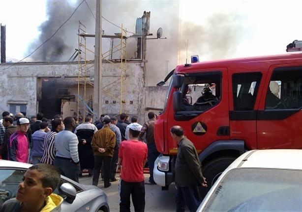 3 سيارات إطفاء لإخماد حريق بعقار سكني في المهندسين