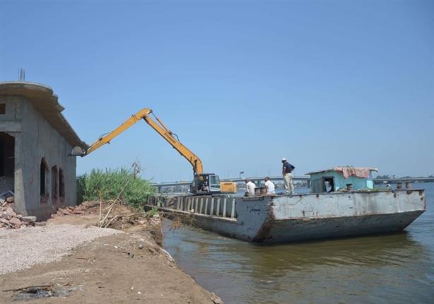 """""""الري"""": إزالة 9954 حالة تعدٍ منذ انطلاق الحملة القومية لإنقاذ النيل"""
