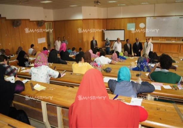 """امتحان """"تربية الإسكندرية"""" يصف تيران وصنافير بالسعودية..قبل العرض على البرلمان - صورة"""