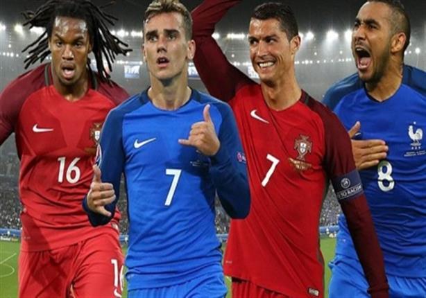 نهائي اليورو- فرنسا تبدأ بالقوة الضاربة.. ورنالدو وناني يقودان هجوم البرتغال