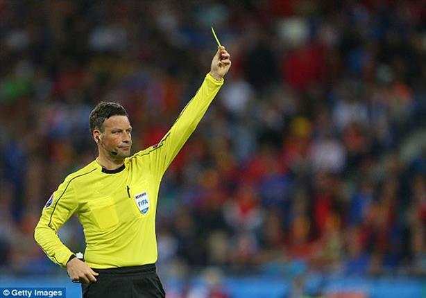 الإنجليزي كلاتينبرج حكمًا لنهائي يورو 2016