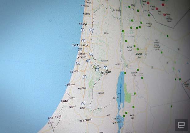 لهذا السبب لا يظهر اسم فلسطين على خرائط جوجل مصراوى