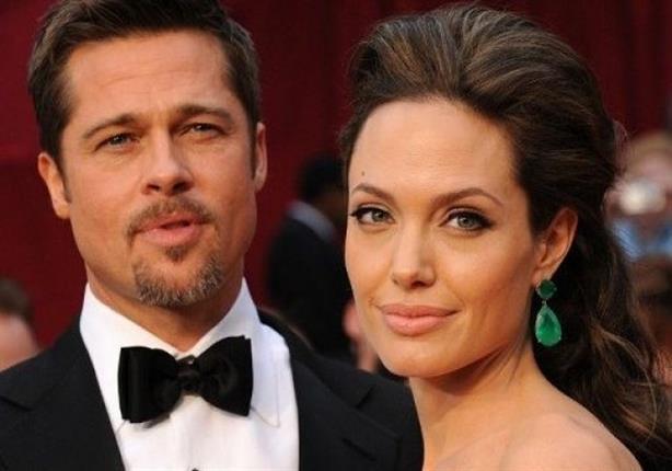 أنجلينا جولي تطلب الطلاق من براد بيت