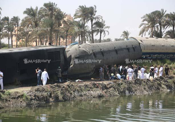 وكيل وزارة الصحة يُعلن الحصيلة النهائية لمصابي حادث انقلاب قطار العياط