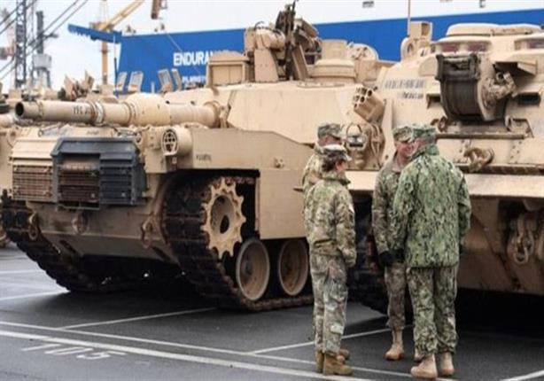 """قوات أمريكية تصل إلى بولندا تحسبا من """"تحركات روسية"""""""