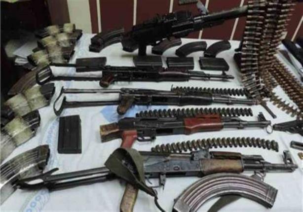 ضبط 19 قطعة سلاح ناري و71 قضية مخدرات بالجيزة
