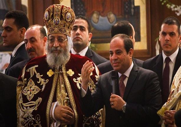السيسي في الكاتدرائية.. 5 زيارات رسمية من الوزير والرئيس