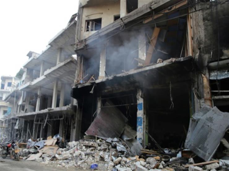 المرصد السوري : 7 قتلى في قصف جوي على ريفي حلب وإدلب