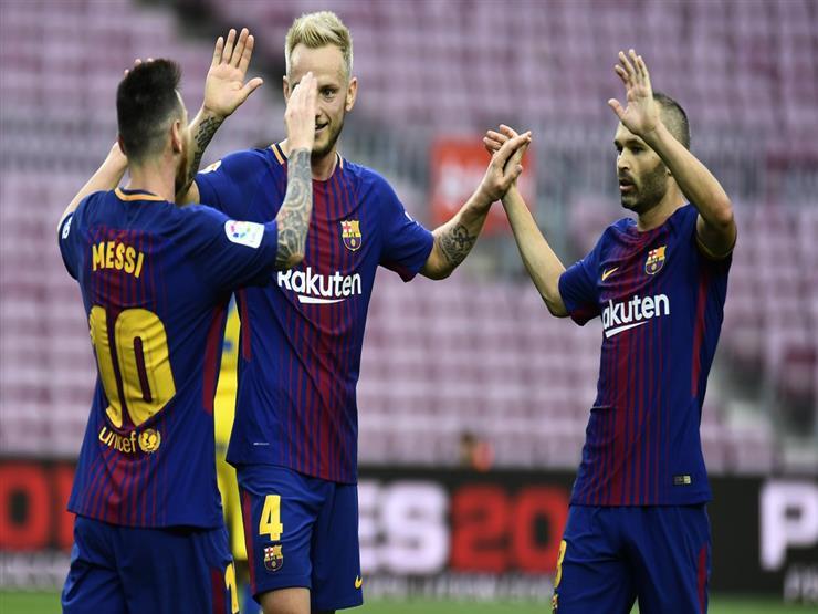 بالفيديو.. بغياب جماهيري.. برشلونة يتحدى إسبانيا ويقهر لاس بالماس