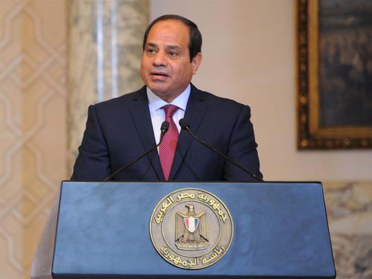 السيسي يفوض وزير الدفاع بشأن التعبئة العامة