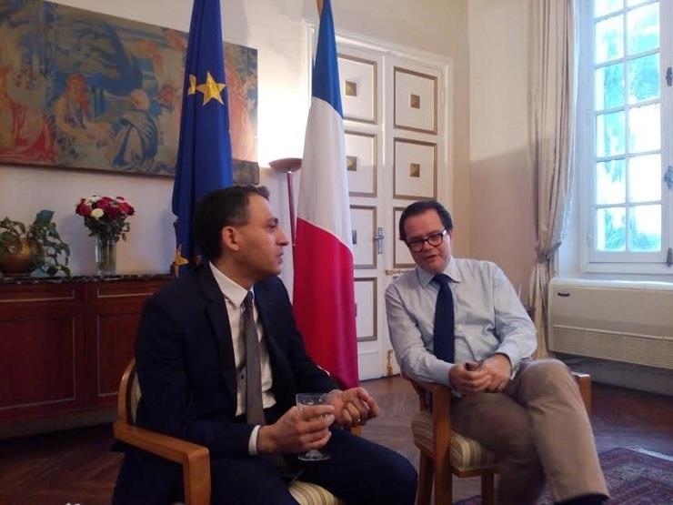 سفير فرنسا: السيسي يزور باريس قريبًا.. وعلاقاتنا الاقتصادية ليست بقوة التعاون السياسي