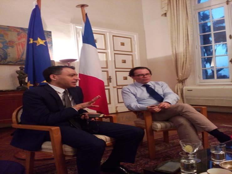 سفير فرنسا لدى القاهرة: مصر استعادت دورها السياسي والدبلوماسي