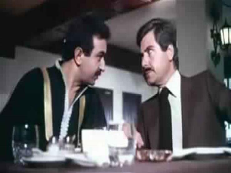 بكاء حسين فهمي على الهواء بسبب نور الشريف