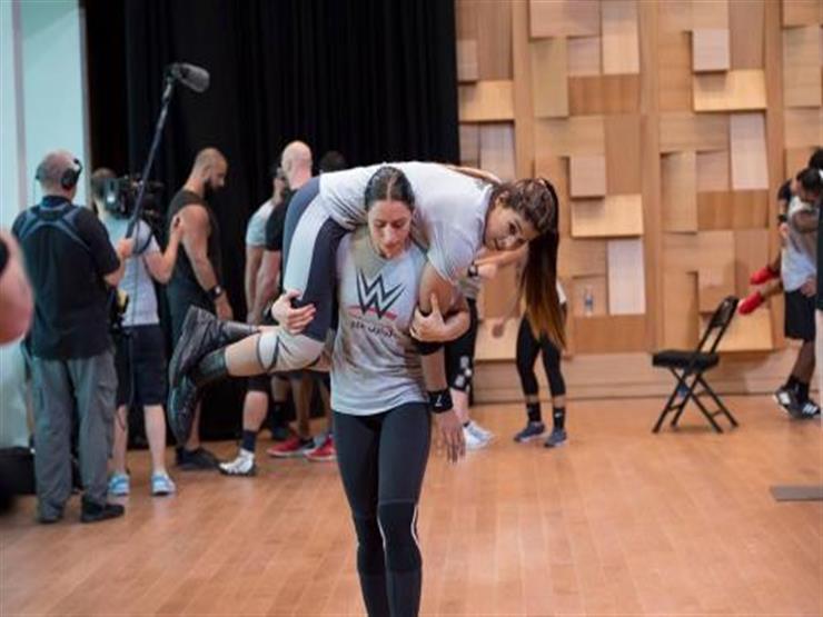 أول إمرأة عربية تنضم للمصارعة الحرة WWE