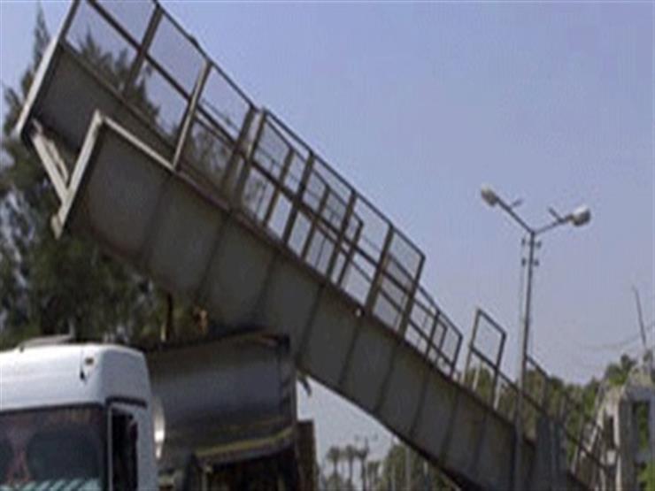 تحويلات مرورية جديدة عقب انهيار كوبري على الطريق الزراعي بالقليوبية