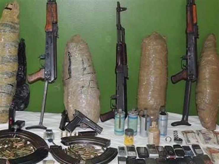 ضبط 26 متهمًا بالاتجار في المخدرات و4 قطع سلاح بالجيزة   مصراوى