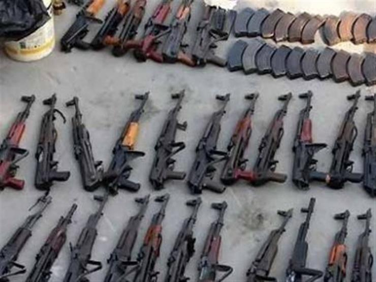 الداخلية: ضبط عدد من الأسلحة النارية والذخائر بـ ٣ محافظات