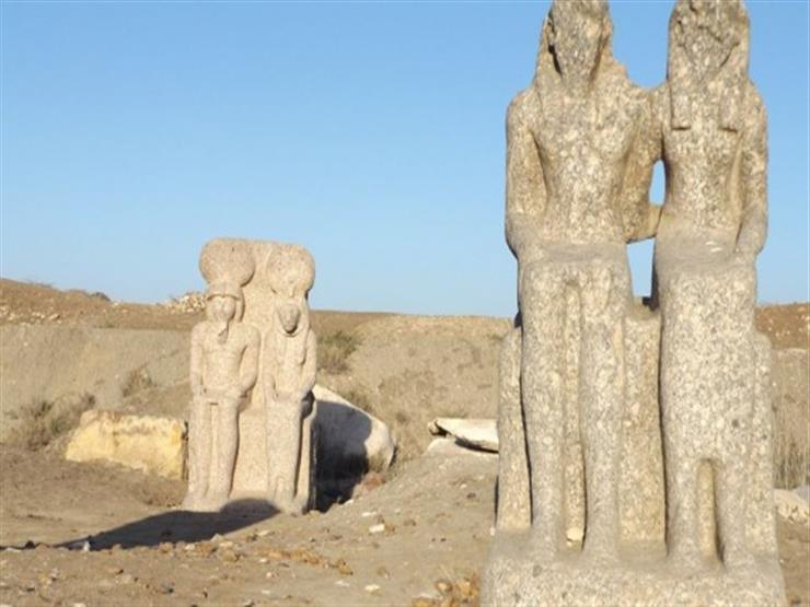 عُثر عليها في الشارع.. النيابة تأمر بإيداع 10 قطع أثرية في تل الفراعين بكفر الشيخ