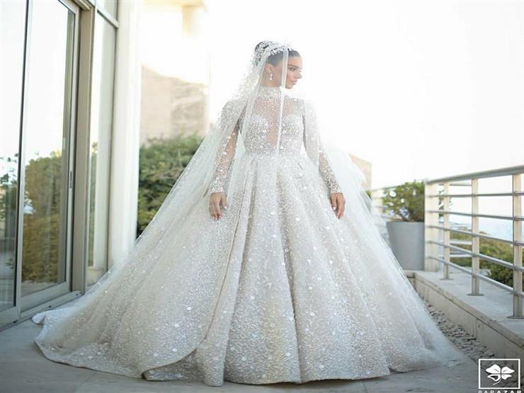 فستان زفاف أسطوري لخريجة ستار