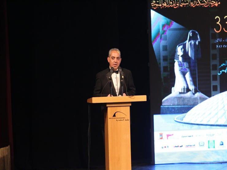 بالصور.. الأمير أباظة: مهرجان الإسكندرية السينمائي الأفضل