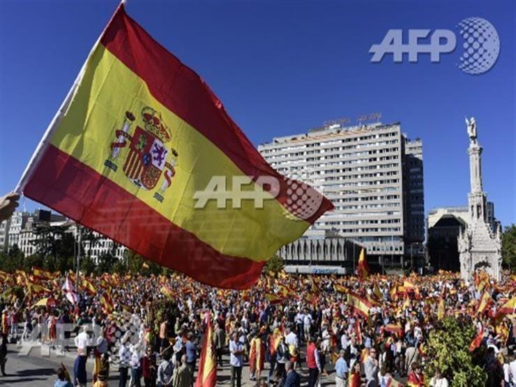 صورة وخبر: علم إسبانيا وانفصال كتالونيا